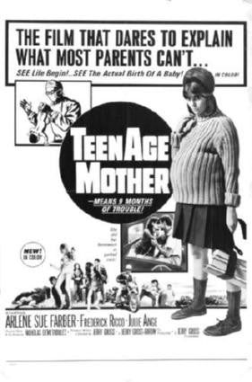 Teenage Mother Movie Poster 24in x 36in - Fame Collectibles