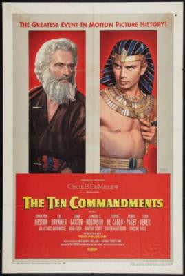 Ten Commandments The Poster 24inx36in - Fame Collectibles