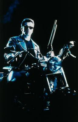 Terminator 2 Motorcycle Movie Poster 24x36 - Fame Collectibles