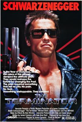 Terminator The Movie Poster 24x36 - Fame Collectibles
