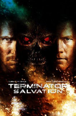 Terminator Salvation Movie Poster 24x36 - Fame Collectibles