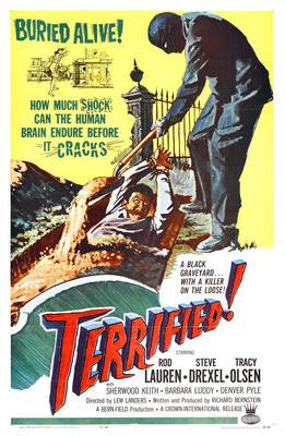Terrified Movie Poster 24x36 - Fame Collectibles