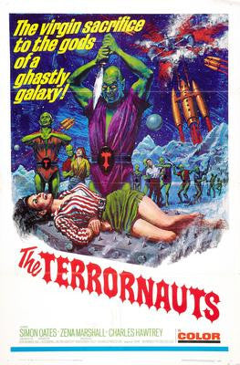 Terrornauts The Movie Poster 24x36 - Fame Collectibles