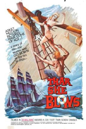Thar She Blows Movie Poster 24in x 36in - Fame Collectibles