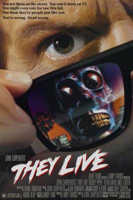 They Live Roddy Piper Movie Poster 24x36 - Fame Collectibles