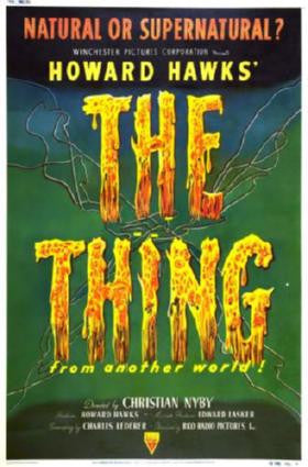 Thing The From Another World Movie Poster 24in x 36in - Fame Collectibles