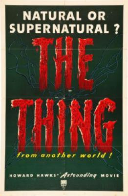 Thing The Movie Poster 24in x 36in - Fame Collectibles
