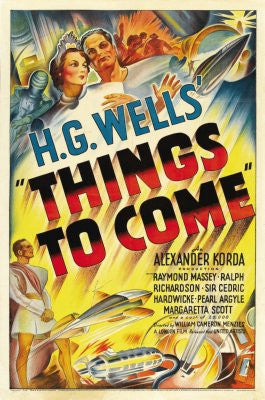 Things To Come Movie Poster 24x36 - Fame Collectibles