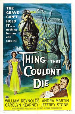 Thing That CouldnT Die The Movie Poster 24x36 - Fame Collectibles