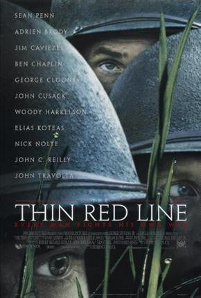 Thin Red Line Movie Poster 24x36 - Fame Collectibles