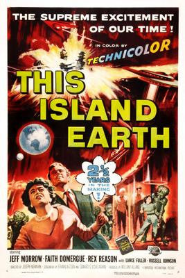 This Island Earth Vt Movie Poster 24x36 - Fame Collectibles