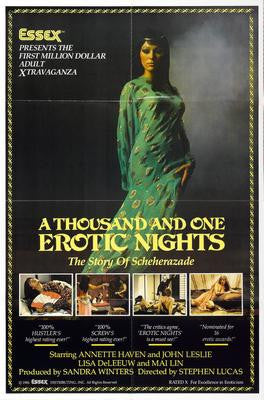 Thousand And One Erotic Nights A Movie Poster 24x36 - Fame Collectibles