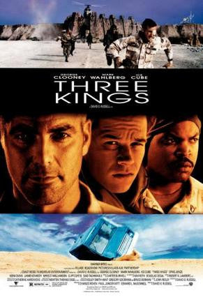 Three Kings Movie Poster 24x36 - Fame Collectibles
