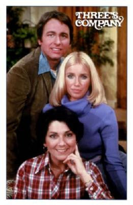 Threes Company Poster 24in x 36in - Fame Collectibles