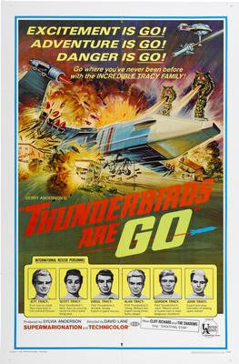 Thunderbirds Are Go Poster 24x36 - Fame Collectibles