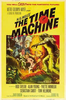 Time Machine The Movie Poster 24x36 - Fame Collectibles