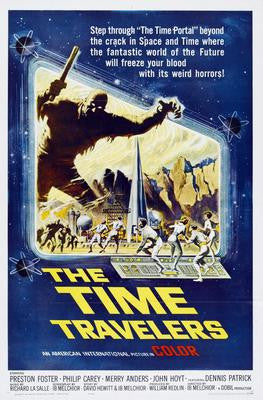 Time Travellers The Movie Poster 24x36 - Fame Collectibles