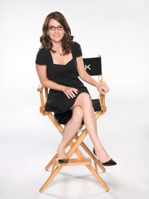 Tina Fey Poster 24x36 director's chair 24x36 - Fame Collectibles