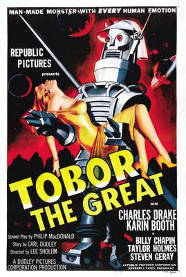 Tobor The Great Movie Poster 24x36 - Fame Collectibles