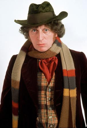 Tom Baker Poster dr. who 24x36 - Fame Collectibles
