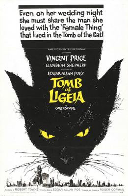 Tomb Of Ligeia Movie Poster 24x36 - Fame Collectibles