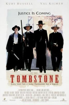 Tombstone Movie Poster 24x36 - Fame Collectibles