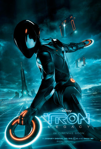 Tron Movie Poster 24in x36 in #F9 24x36 - Fame Collectibles