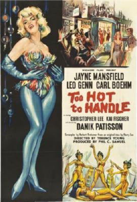 Too Hot To Handle Movie Poster 24in x 36in - Fame Collectibles