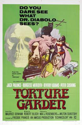 Torture Garden Movie Poster 24x36 - Fame Collectibles