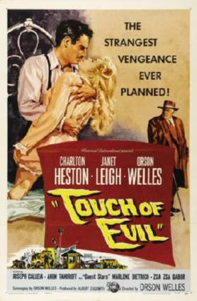 Touch Of Evil Movie Poster 24in x 36in - Fame Collectibles