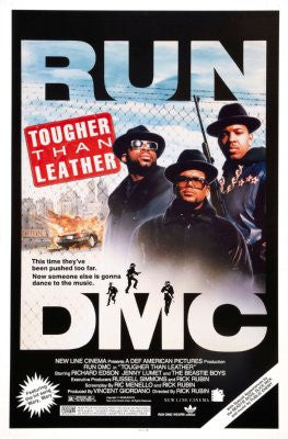 Tougher Than Leather Movie Poster 24x36 run dmc 24x36 - Fame Collectibles