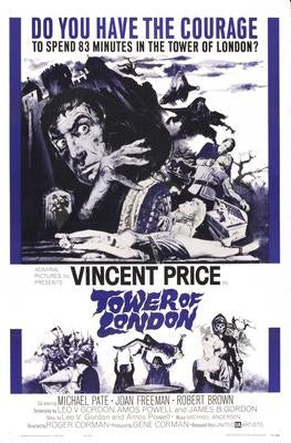 Tower Of London Movie Poster 24x36 - Fame Collectibles