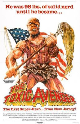 Toxic Avenger The Movie Poster 24x36 - Fame Collectibles