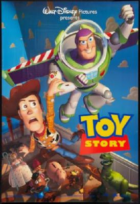 Toy Story 1 Movie Poster 24in x 36in - Fame Collectibles