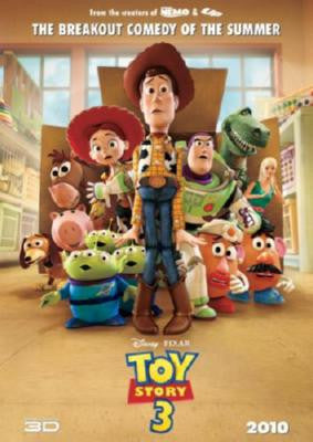 Toy Story 3 Movie Poster 24in x 36in - Fame Collectibles
