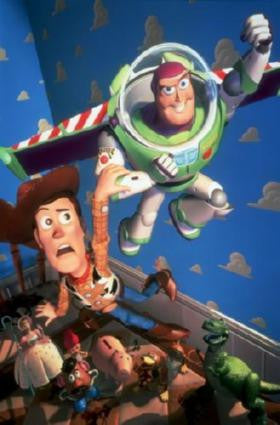Toy Story Movie Poster 24in x 36in - Fame Collectibles
