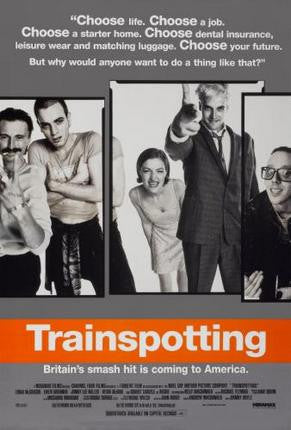 Trainspotting Movie Poster 24x36 - Fame Collectibles