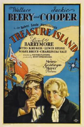 Treasure Island Movie Poster 24in x 36in - Fame Collectibles