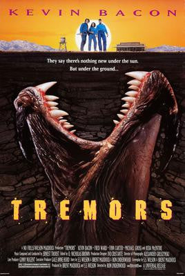 Tremors Movie Poster 24x36 - Fame Collectibles