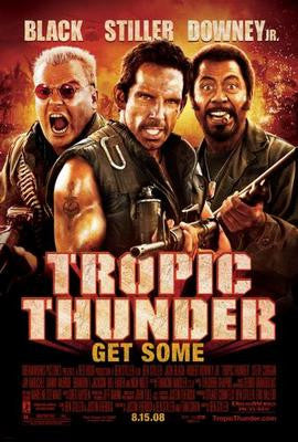 Tropic Thunder Movie Poster 24x36 - Fame Collectibles