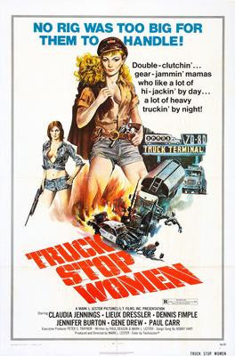 Truck Stop Women Movie Poster 24x36 - Fame Collectibles