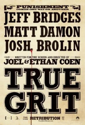 True Grit Movie Poster 24in x 36in - Fame Collectibles