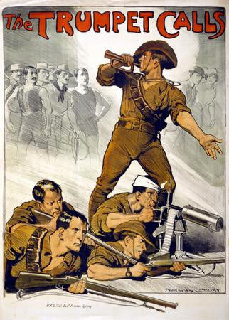 Trumpet calls War Poster 24x36 - Fame Collectibles