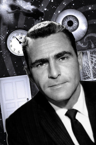 Twilight Zone Art Poster 20X36 24x36 - Fame Collectibles