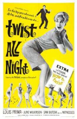 Twist All Night Movie Poster 24in x 36in - Fame Collectibles