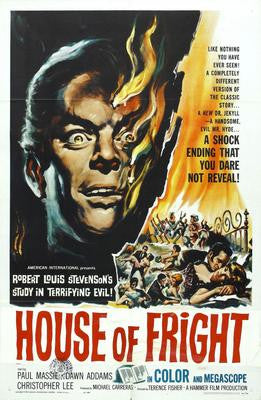 House Of Fright Movie Poster 24x36 - Fame Collectibles