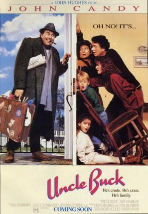 Uncle Buck Movie Poster 24x36 - Fame Collectibles