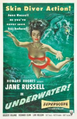 Underwater Movie Poster 24in x 36in - Fame Collectibles