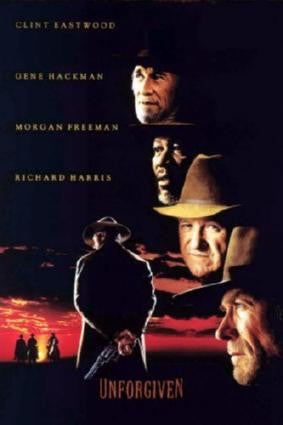 Unforgiven Movie Poster 24in x 36in - Fame Collectibles