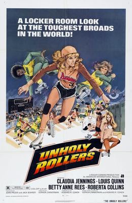 Unholy Rollers Movie Poster 24x36 - Fame Collectibles